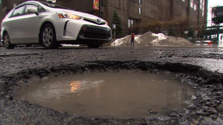Fed up with dodging potholes? A car mechanic gives tips on how to avoid the damage