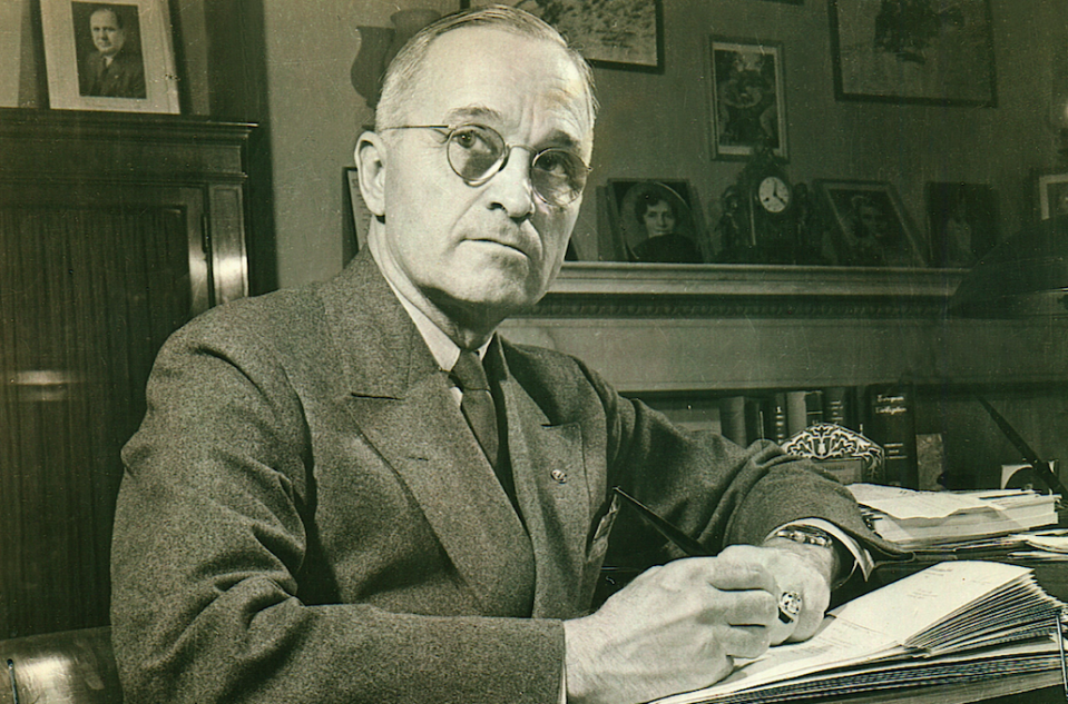 Former US president Harry Truman (Picture: Rex)