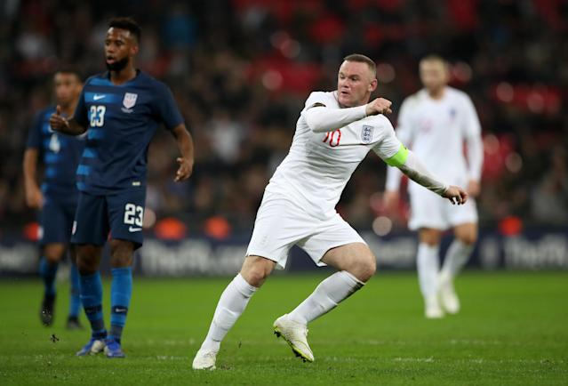 Rooney almost finds the net (Nick Potts/PA)