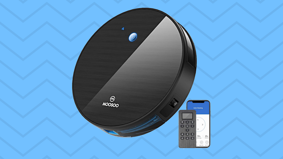Save $92 on this P3 International Smart Wi-Fi Robot Vacuum Cleaner. (Photo: Walmart)