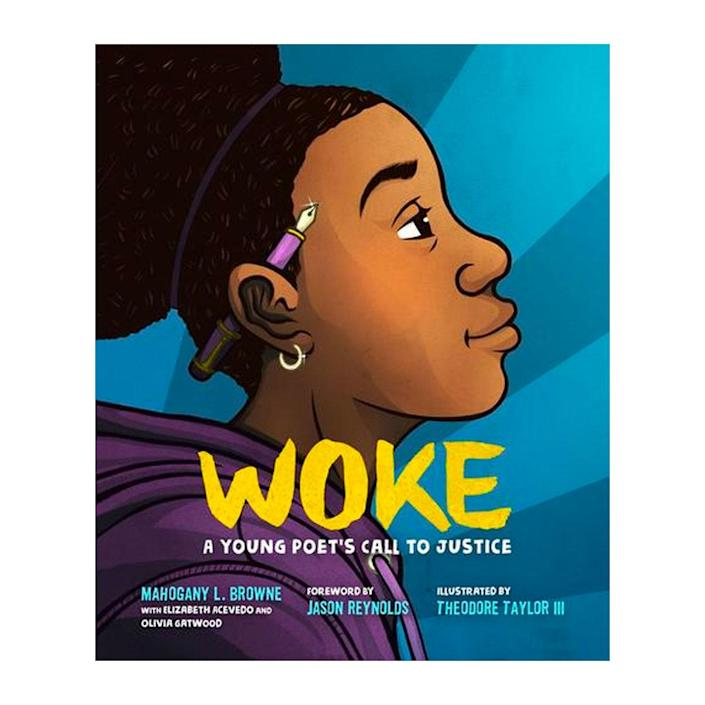 """For the dad looking to <a href=""""https://www.glamour.com/story/childrens-books-anti-racism?mbid=synd_yahoo_rss"""" rel=""""nofollow noopener"""" target=""""_blank"""" data-ylk=""""slk:talk to his kids about antiracism"""" class=""""link rapid-noclick-resp"""">talk to his kids about antiracism</a>, Y.A. author <a href=""""https://www.writeinbk.com/"""" rel=""""nofollow noopener"""" target=""""_blank"""" data-ylk=""""slk:Tiffany D. Jackson"""" class=""""link rapid-noclick-resp"""">Tiffany D. Jackson</a> recommends this book. She describes it as """"a beautiful collection of poems that tackles injustice in palatable ways while literally calling on kids to use their voices. Plus, the act of reciting poetry makes the reading experience that more memorable for young developing minds."""" $19, Mahogany Books. <a href=""""https://www.mahoganybooks.com/9781250311207"""" rel=""""nofollow noopener"""" target=""""_blank"""" data-ylk=""""slk:Get it now!"""" class=""""link rapid-noclick-resp"""">Get it now!</a>"""