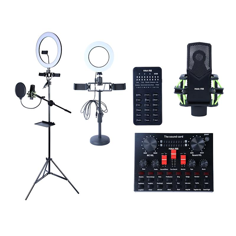 Multifunctional Live Streaming Equipment Live Webcast Webcam Device Sets for YouTube