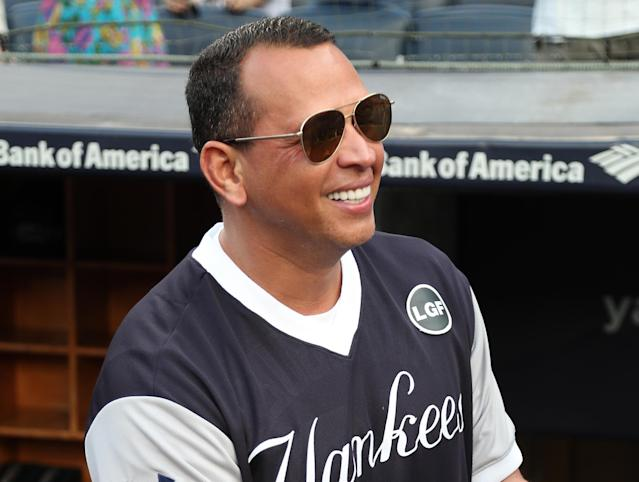 Alex Rodriguez hosted ESPN's morning show on Friday, and his list of the best hitters he's ever seen was a little heavy on the PED users. (Photo by Cassidy Sparrow/Getty Images)