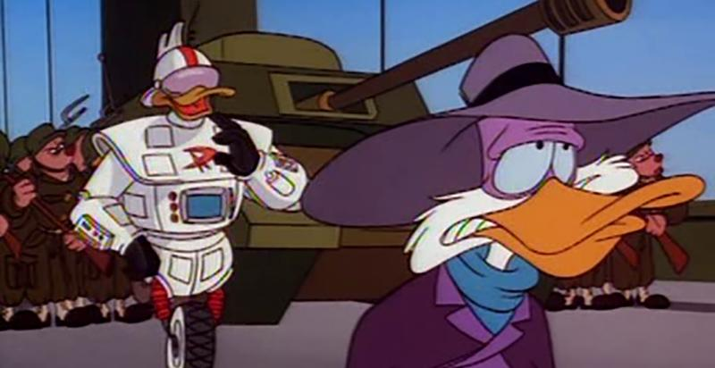 A still from Disney's Darkwing Duck. (Disney)