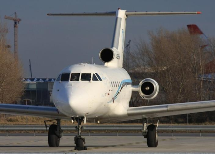 A plane crashed on the way to an airport inauguration due to stormy conditions