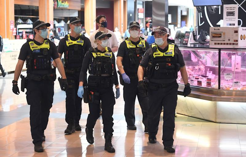 Victoria Police at Chadstone Shopping Centre