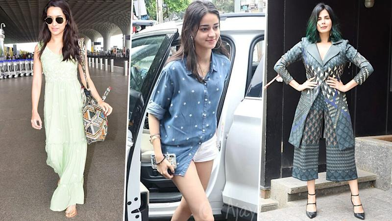 Best and Worst Dressed Over the Weekend: Shraddha Kapoor, Ananya Panday and Tanisha Mukherji Make Fashion Blunders While Bollywood Moms Shilpa Shetty and Sunny Leone SERVE!