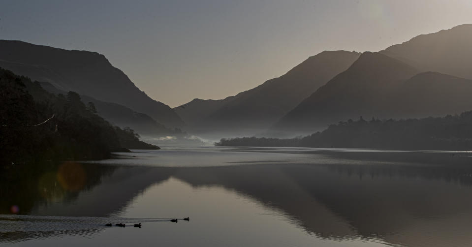 A view of Lake Padarn that forms part of Slate Landscape of Northwest Wales, which was formally presented to Unesco as the UK's next nomination for the World Heritage List in January (Peter Byrne/PA)