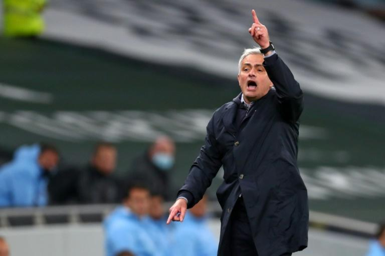 Jose Mourinho's Tottenham are top of the Premier League on goal difference