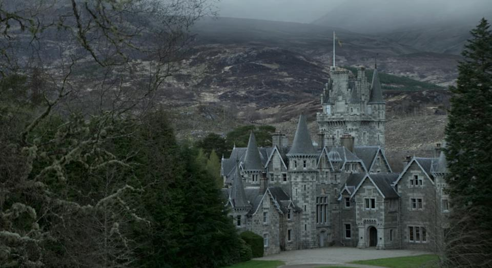 Ardverikie Castle is used for exterior shots of Balmoral Castle in The Crown (Netfliix)