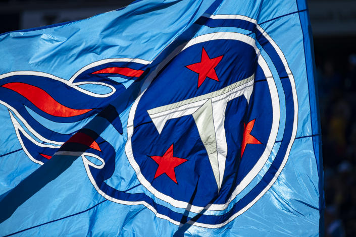 The Tennessee Titans are likely to face league discipline for safety protocol violations found in join NFL-NFLPA COVID investigation, according to Yahoo Sports sources. (Photo by Brett Carlsen/Getty Images)