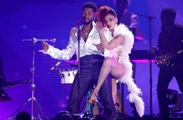 PHOTO: Usher performs a Prince medley at the 62nd Grammy Awards in Los Angeles, Jan, 26, 2020. (Mario Anzuoni/Reuters)