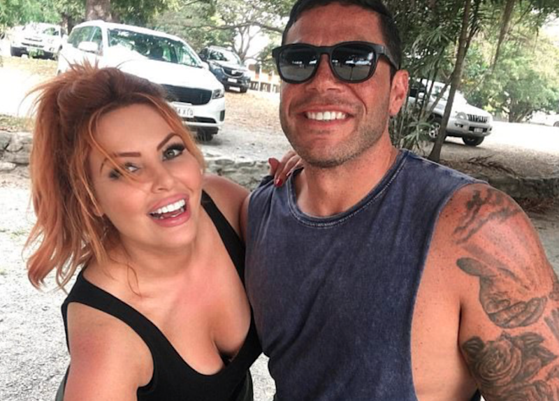 The pair are seen in a cute Instagram snap which was posted by Sarah last week at Anzak Park in Port Douglas. Source: Instagram