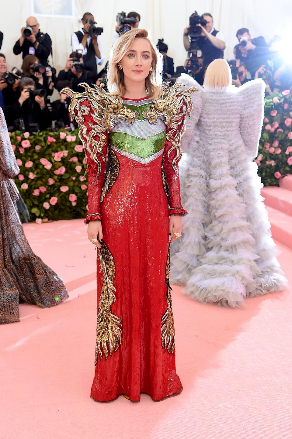 """<h1 class=""""title"""">Saoirse Ronan in Gucci</h1><cite class=""""credit"""">Photo: Getty Images</cite>"""