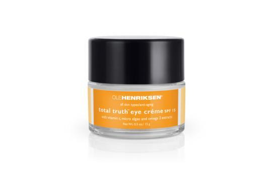 "<p>For luxe appeal, this is the hands-down winner. The rich formula feels ultra-pampering and melts right into your skin with a clean scent. <a href=""https://www.olehenriksen.com/p-126-total-truth-eye-creme-spf-15.aspx"" rel=""nofollow noopener"" target=""_blank"" data-ylk=""slk:Ole Henriksen Total Truth Eye Creme SPF 15"" class=""link rapid-noclick-resp"">Ole Henriksen Total Truth Eye Creme SPF 15 </a>($45)</p>"