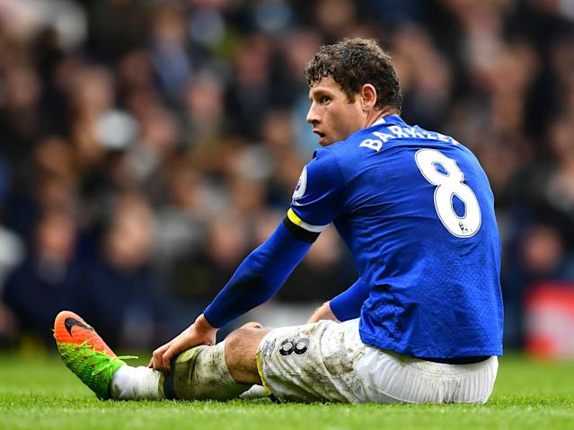 Barkley played the full 90 minutes in Everton's win against Leicester: Getty