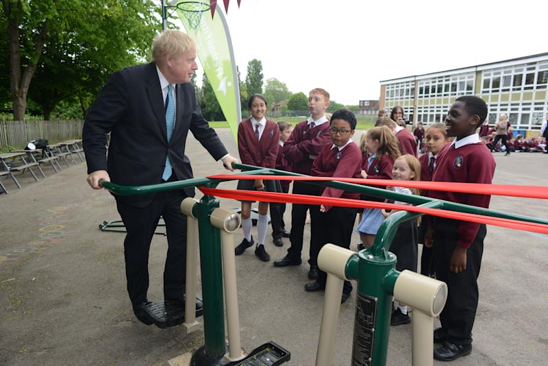 Mr Johnson has pledged more money for pupils (Picture: PA)