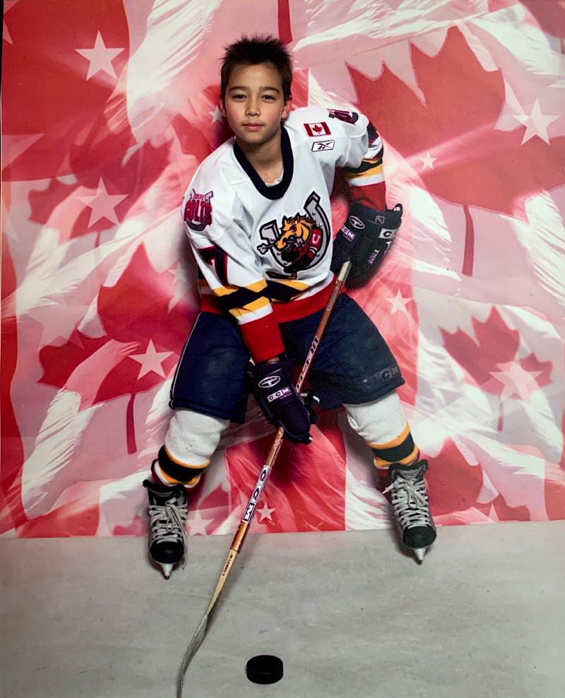 One of the first competitive teams I played for was the Barrie Jr. Colts. (Photo: Tyler Griffin)