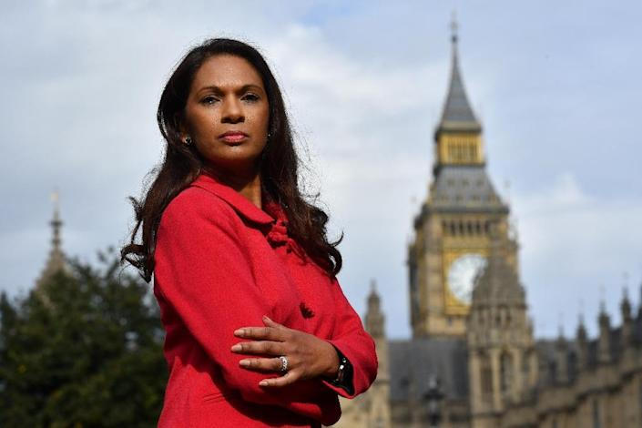 Gina Miller, co-founder of investment fund SCM Private, is leading a legal challenge against Prime Minister Theresa May's right to trigger Brexit negotiations (AFP Photo/Ben Stansall)