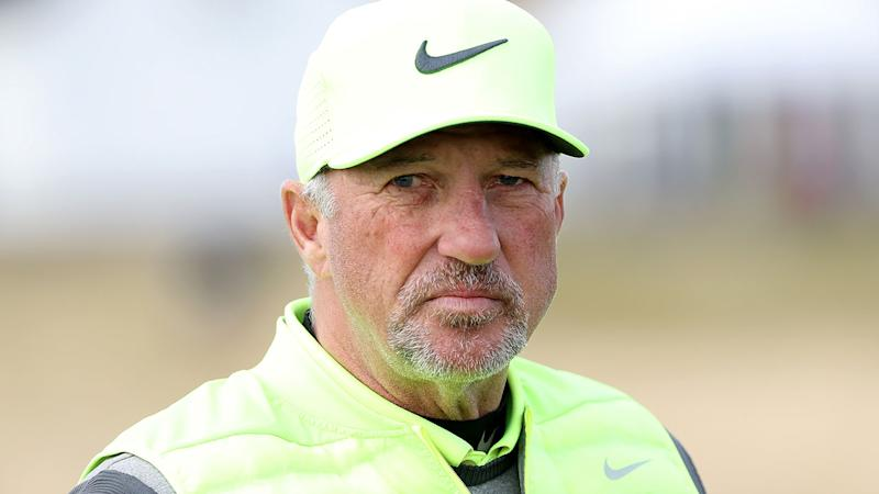 Pictured here, England cricket legend Ian Botham at a golf event.