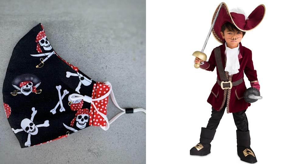 Give Captain Hook an extra sinister edge with this mask.