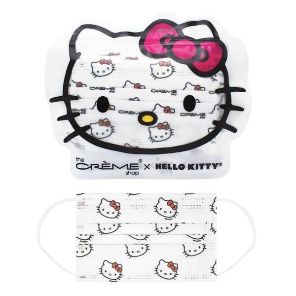 """<p>thecremeshop.com</p><p><strong>$4.00</strong></p><p><a href=""""https://www.thecremeshop.com/collections/holiday/products/copy-of-3-ply-protective-face-mask-hello-kitty-child-size-disposable"""" rel=""""nofollow noopener"""" target=""""_blank"""" data-ylk=""""slk:Shop Now"""" class=""""link rapid-noclick-resp"""">Shop Now</a></p>"""