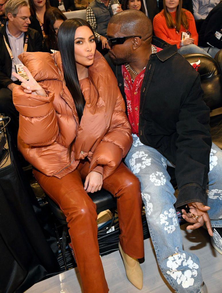 <p>After West performed his Sunday Service ceremony in Chicago, the couple headed to the city's United Centre to watch the NBA All-Star Game along with Cardi B, Offset, Chance The Rapper, Chadwick Boseman, Tiffany Haddish and more.</p>