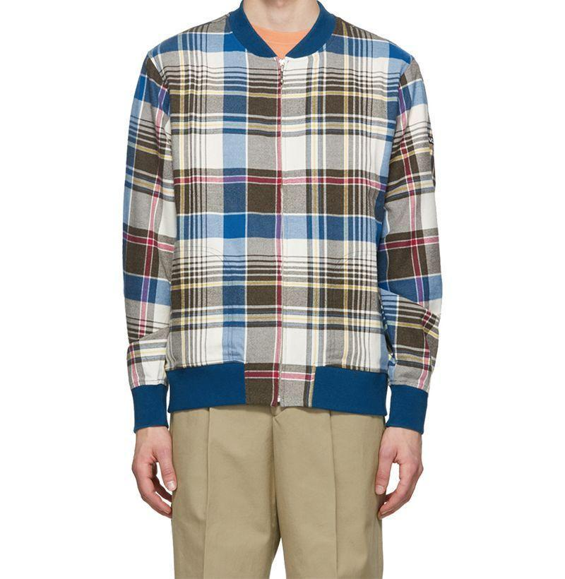 """<p><strong>Noah NYC</strong></p><p>ssense.com</p><p><strong>$230.00</strong></p><p><a href=""""https://go.redirectingat.com?id=74968X1596630&url=https%3A%2F%2Fwww.ssense.com%2Fen-us%2Fmen%2Fproduct%2Fnoah%2Fmulticolor-plaid-bomber-jacket%2F4996581&sref=https%3A%2F%2Fwww.esquire.com%2Fstyle%2Fnews%2Fg2932%2F10-best-bomber-jackets-for-fall%2F"""" rel=""""nofollow noopener"""" target=""""_blank"""" data-ylk=""""slk:Buy"""" class=""""link rapid-noclick-resp"""">Buy</a></p><p>Noah imbues a classic bomber silhouette with the brand's signature post-prep cheeriness and the results, dear reader, couldn't look more spot-on. </p>"""