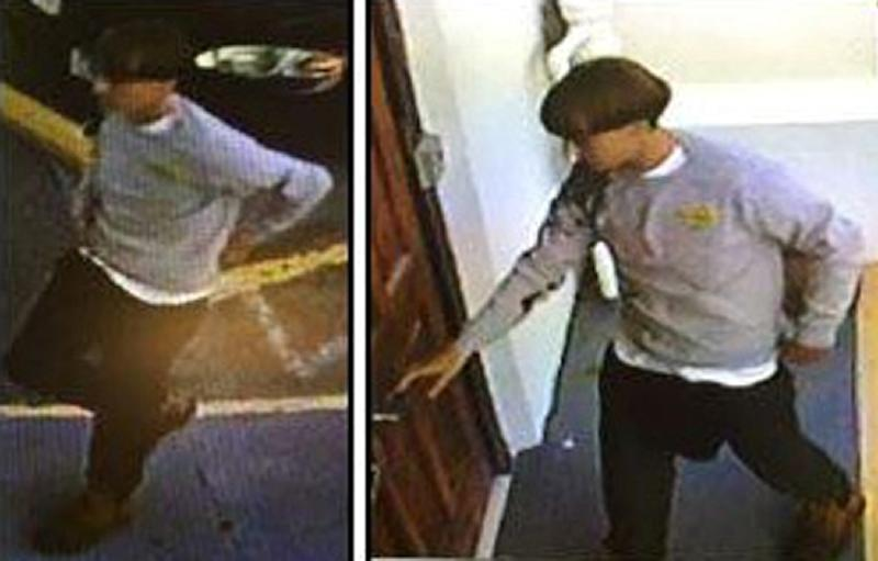 Charleston police said the suspected gunman is about 5 foot, 9 inches tall and in his early 20s