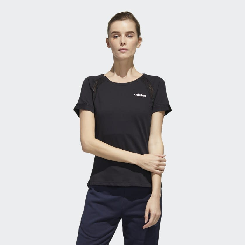 Fast And Confident Cool Tee. Image via adidas.