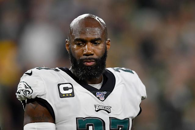 Malcolm Jenkins called for change in the Philadelphia police department. (Quinn Harris/Getty Images)