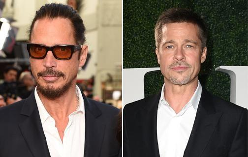 Brad is said to be 'devastated' over Chris Cornell's death. Source: Getty