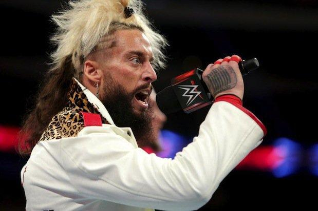 Enzo Amore has been suspended following a rape allegation. (WWE)