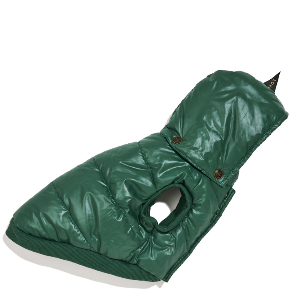 "<h2>Found My Animal Puffer Coat</h2><br>""Finding a good puffer/rain coat for my dog has been a <em>struggle.</em> He's a skinny mutt, so sizing has always been a problem, and half the time he immediately tries to take off any outerwear when I put it on him (sometimes successfully!). But I'm <em>so</em> glad I came across the Found My Animal brand, which has the perfect little puffer for cold or rainy days outside. The sizing runs a bit small, so you should read the measurements, but the right size fit my dog like a dream — he seems comfortable and happy in his little green puffer! As a bonus, this brand has super cute leashes and harnesses for those seeking out some trendy Spring puppy accessories."" — <em>Leora</em><br><br><strong>Found My Animal</strong> FOUND MY ANIMAL PUFFER COAT, $, available at <a href=""https://go.skimresources.com/?id=30283X879131&url=https%3A%2F%2Fwww.foundmyanimal.com%2Fhunter-puffer2"" rel=""nofollow noopener"" target=""_blank"" data-ylk=""slk:Found My Animal"" class=""link rapid-noclick-resp"">Found My Animal</a>"