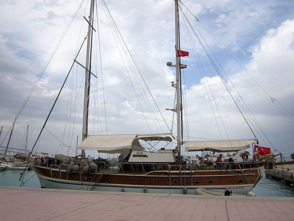 Gorgeous Cleopatra, a Turkish boat for sale at Hurghada Marina
