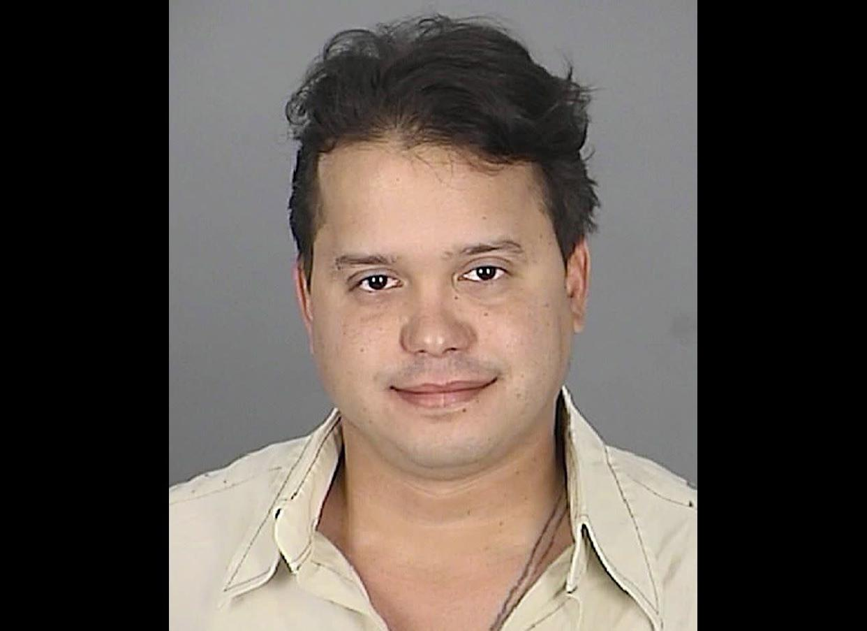 """Investigators say a Florida motorist gave new meaning to the term """"drunk dialing."""" Phernando Cuello, 30, is accused of losing control of his car on March 20 while driving drunk and """"sexting."""" The Tampa resident has been charged with driving under the influence."""