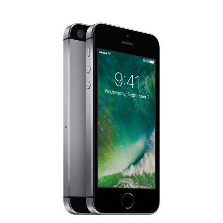 "Regularly: $129<br /><a href=""https://www.walmart.com/ip/Straight-Talk-Apple-iPhone-SE-32GB-Prepaid-Smartphone-Gray/497984946"" target=""_blank""><strong>Black Friday: $99 when you commit to a Walmart wireless service</strong></a> (Walmart)"