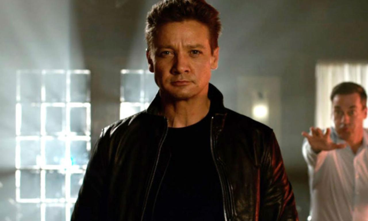 "<p>The Marvel star managed to <a rel=""nofollow"" href=""https://uk.movies.yahoo.com/jeremy-renner-breaks-arms-shooting-avengers-infinity-war-stunt-151402445.html"">break both his arms</a> after falling off a 20 foot stack of chairs while escaping Jon Hamm in a particular scene. He was given green screen casts to wear so they could CGI his arms in post-production. </p>"