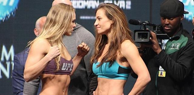 Miesha Tate's Advice to Ronda Rousey: 'Pick Yourself Up by the Boot Straps'