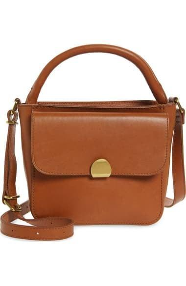 <p>You can style this <span>Madewell The Mini Abroad Leather Crossbody Bag</span> ($148) so many ways.</p>