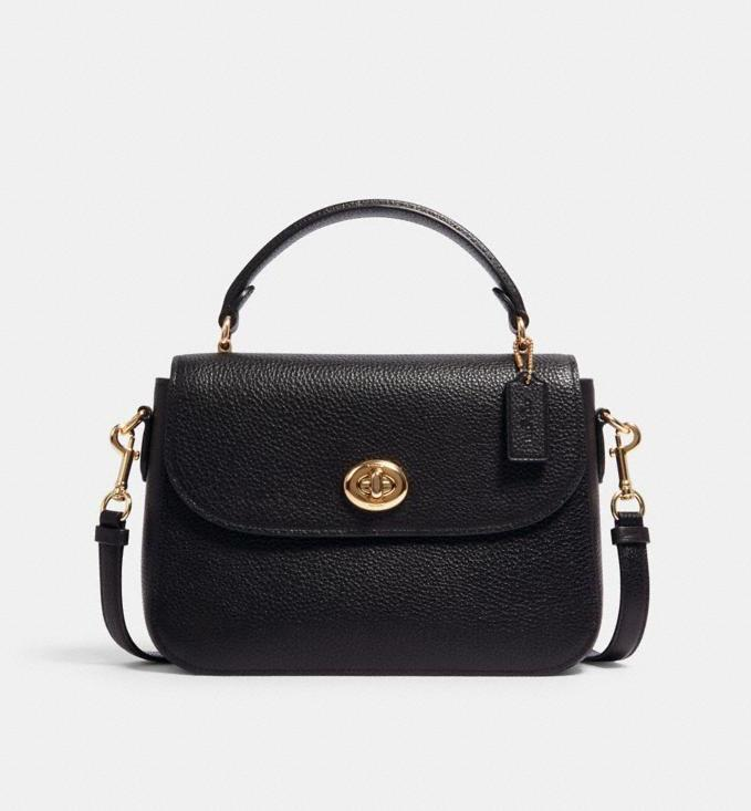 Marlie Top Handle Satchel. Image via Coach Outlet.