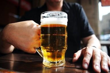 Picture of a glass of beer