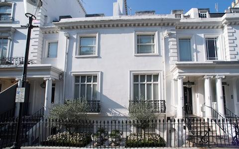 The £15 million Knightsbridge home of Zamira Hajiyeva - Credit: Paul Grover for The Telegraph