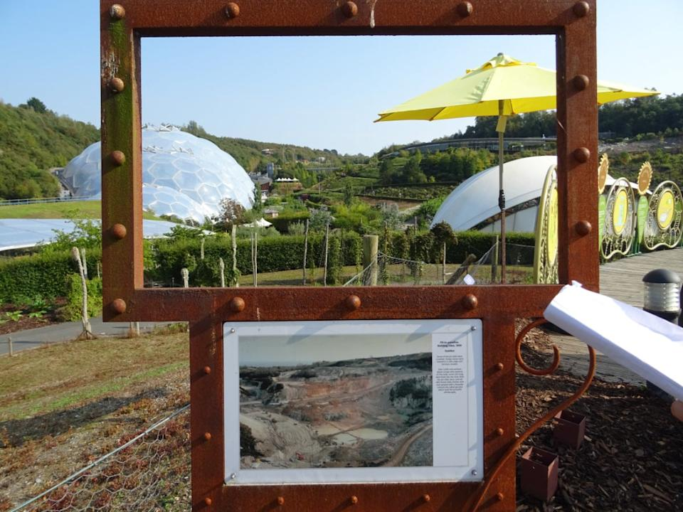 The Eden project, transformed from a clay pitPaul Murphy