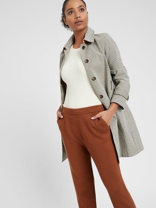 <p>These <span>Banana Republic Washable Merino Sweater Jogger</span> ($68, originally $99) make a soft switch up on your favorite cotton joggers. </p>