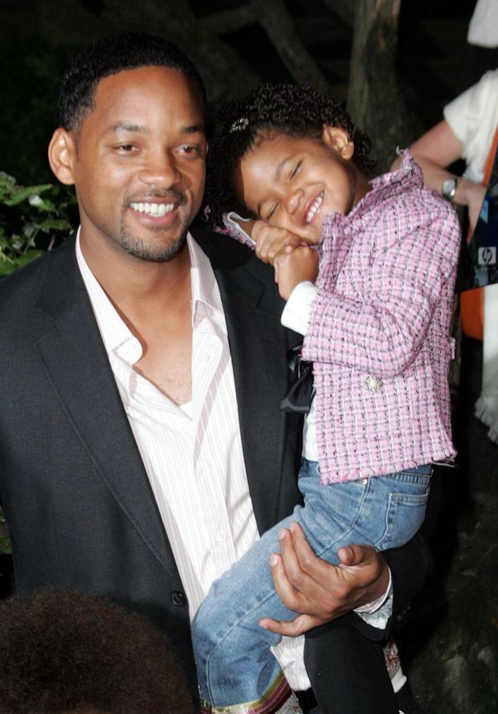 <p>Will and Jada Pinkett Smith's daughter was born October 31, 2000.</p>