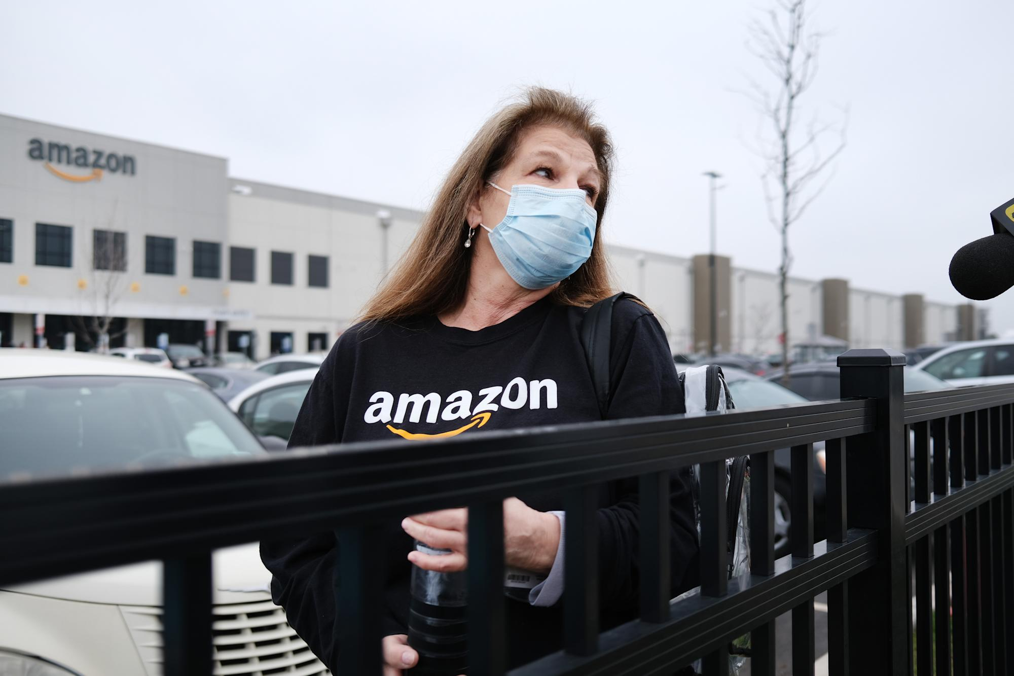'We're risking our lives': Why Amazon warehouse workers are walking out over coronavirus fears