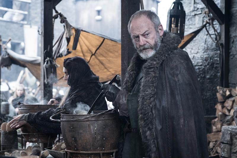 Liam Cunningham as Davos Seaworth in <i>Game of Thrones</i>. (Photo: Helen Sloan/HBO)