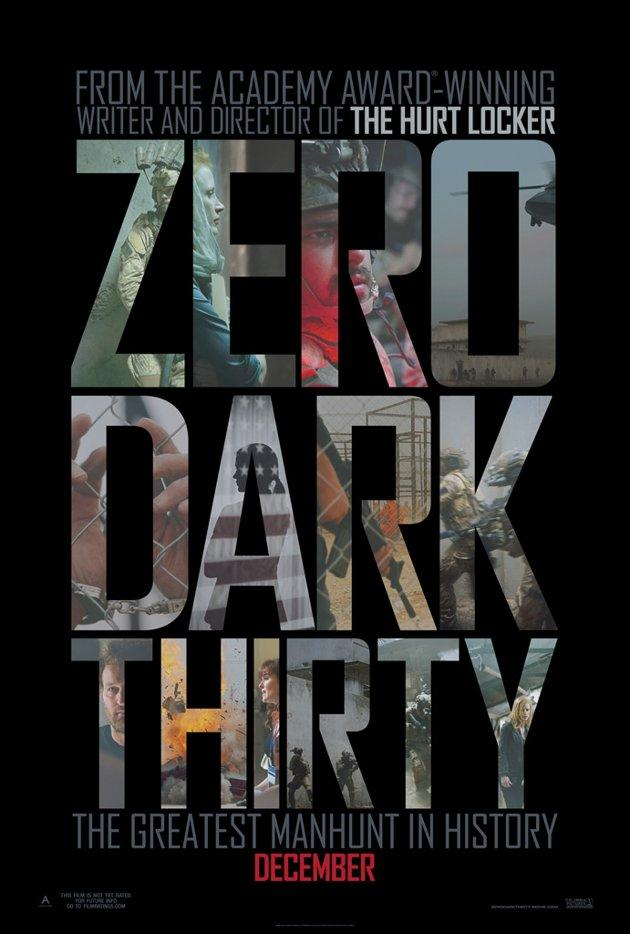 <p><strong>Zero Dark Thirty</strong></p>