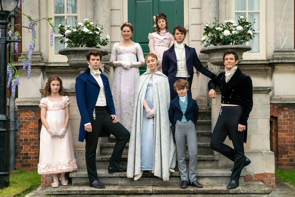"<p>If your interests include period pieces, attractive people, drama, literal and figurative tea sipping, and bodice-ripping romance, hi and welcome to <em><a href=""https://www.cosmopolitan.com/uk/entertainment/a35043348/bridgerton-season-2-netflix-release-date-cast-trailer/"" rel=""nofollow noopener"" target=""_blank"" data-ylk=""slk:Bridgerton"" class=""link rapid-noclick-resp"">Bridgerton</a></em>. The show, which is basically a cross between <em>Gossip Girl</em> and any given Jane Austen novel, features a truly <em>massive</em> ensemble cast—including the titular Bridgertons, the Featheringtons, a fleet of fancy Dukes and Duchesses, and of course, Her Majesty the Queen. And while a lot of the cast are new-ish-comers, I, for one, spent half this show being like ""WAIT....where do I <em>know</em> her from?""</p><p>Scroll on through for <a href=""https://www.cosmopolitan.com/entertainment/books/g34965473/where-to-buy-the-bridgerton-books/"" rel=""nofollow noopener"" target=""_blank"" data-ylk=""slk:Bridgerton's main players"" class=""link rapid-noclick-resp""><em>Bridgerton's</em> main players</a> and their previous credits—including some truly fancy sh*t like <em>Dunkirk</em>, <em>Lady Macbeth</em>, <em>Broadchurch</em>, and, in the case of Penelope Featherington, freakin' <em>Derry Girls</em>.</p>"